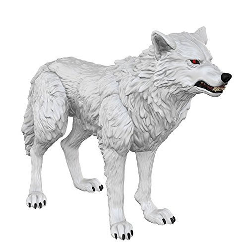 Game of Thrones Winter is Coming Ghost Wolf Action Figure Toys