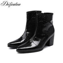 Deification/ботинки в итальянском стиле; botas hombre; водонепроницаемые