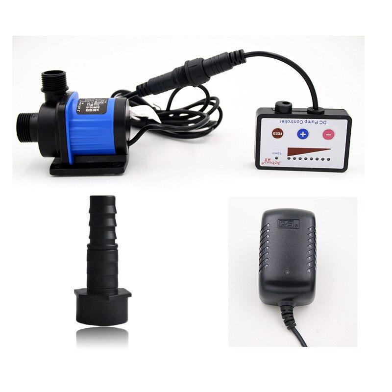 JEBAO DC1200 1200L/ч преобразования частоты с регулируемой скоростью фильтр аквариум для рыбок Ультра тихий погружной мини насос 110 V 220 V