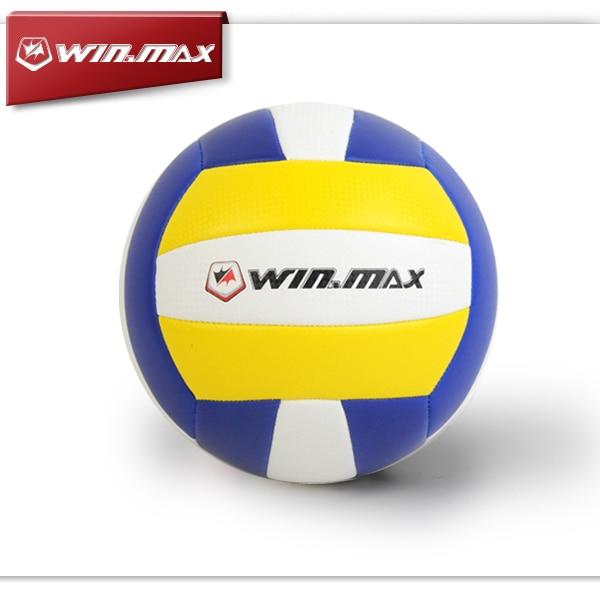 2017 Winmax New Arrival Classcial PU Volley Ball bola de volei Real Image Super Fiber Professional Volley Ball