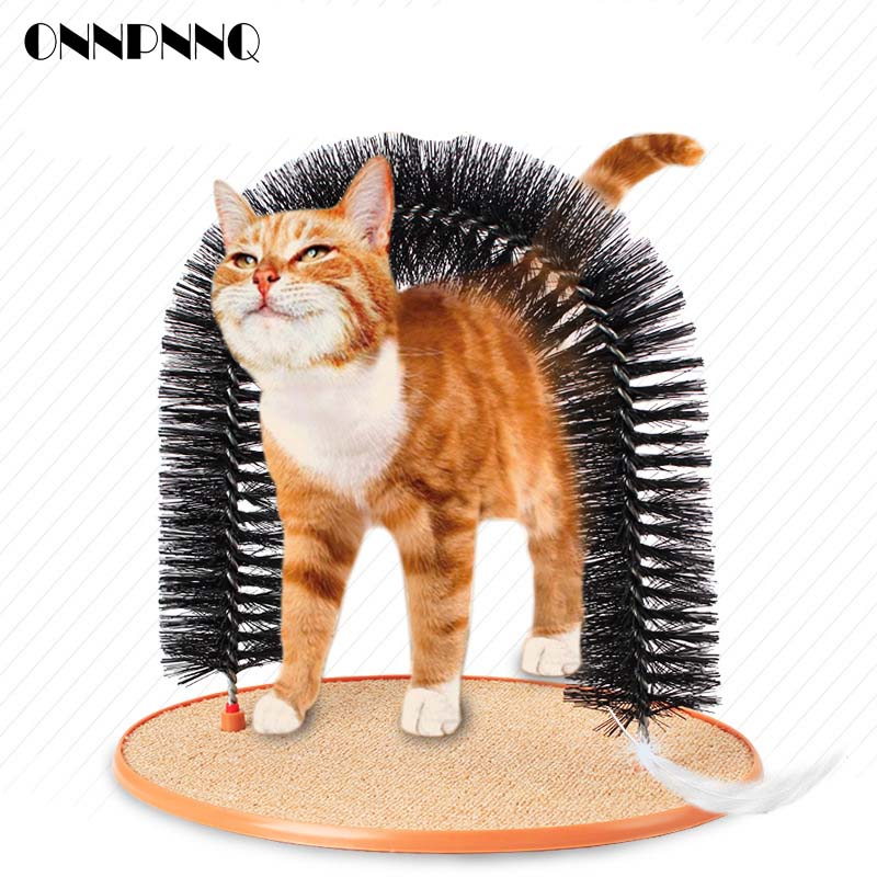 OnnPnnQ 1pcs Arch Door Cat Scratcher Cats Toys Products Cat Brushes For Cats Kitten Puppy Pet Supplies Bedroom Furniture