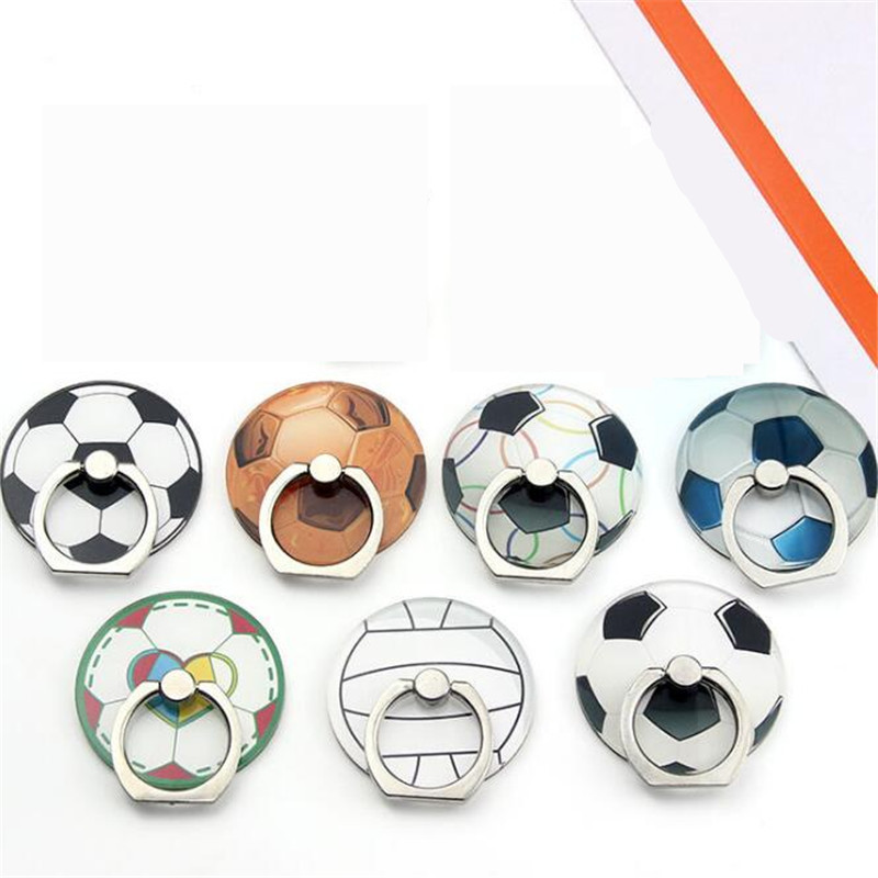 UVR Mobile Phone Stand Holder Sports Ball Finger Ring Football Soccer Smartphone Holder Stand For IPhone Xiaomi Huawei All Phone