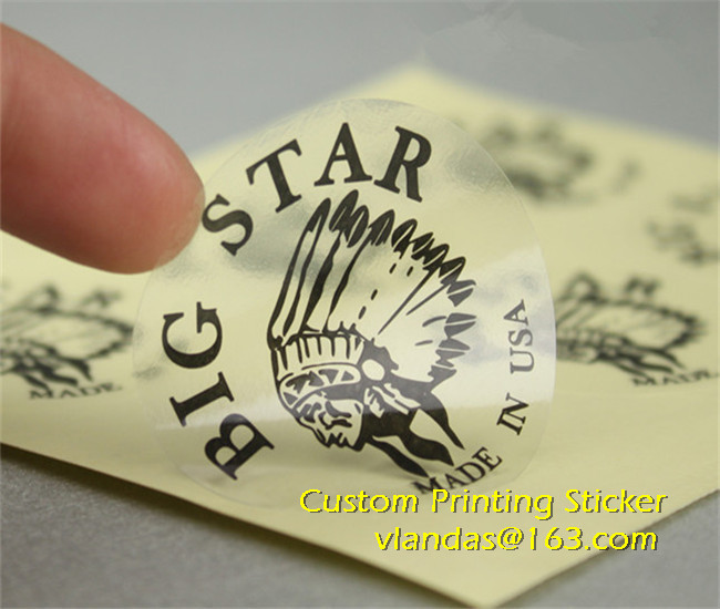 High Quality Clear Logo Stickers CustomBuy Cheap Clear Logo - Clear vinyl stickers