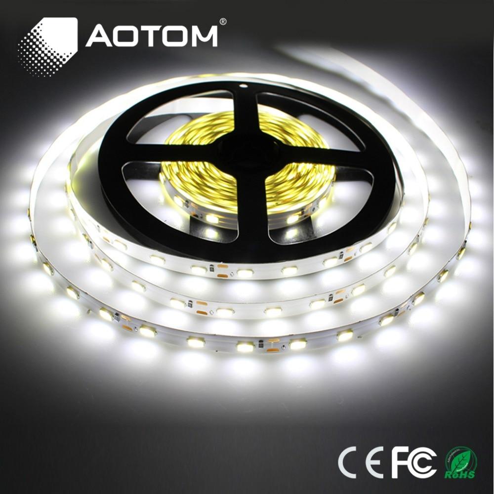 5m Roll Led Strip Lights 5630 Dc12v Dc12v 300 Leds Flexible Bar Light Light High Brightness
