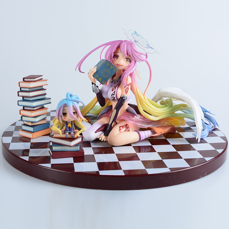1/7 Scale Anime Game Of Life No Game No Life angel Jibril Complete PVC Action Figure Model Collection Model Doll Toy with box цена