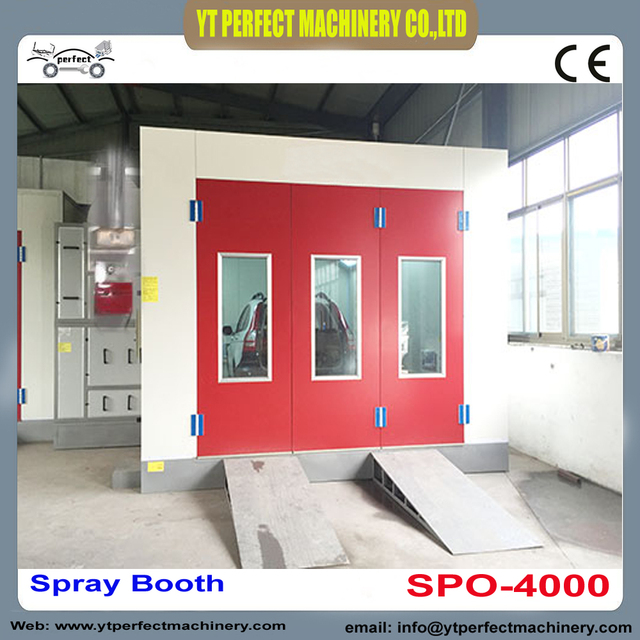SPO 4000 Cabinet Spray Booth Cheap Paint Booth Automotive