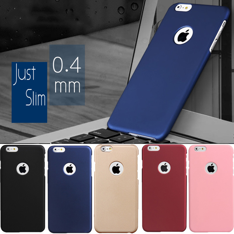 2017 Ultra Thin Slim Frosted Matte Rubber Hard Case For coque iPhone 8 7 Plus 6 6s plus iphone7 fundas Phone Covers capinhas