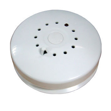 Photoelectric Heat Detector Temperature and Smoke Sensor wired or wireless Sound and light alert when triggered