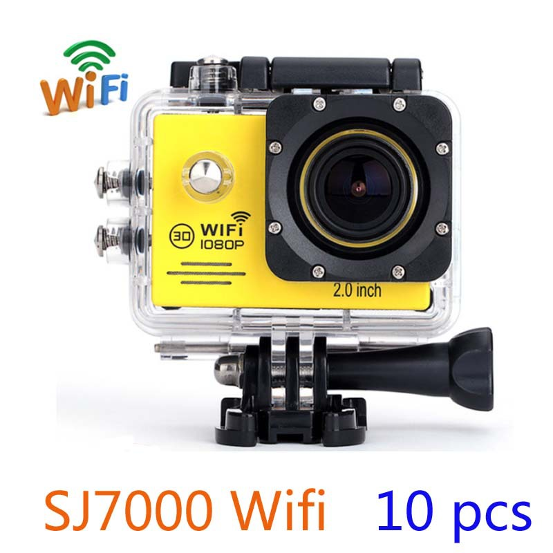 ФОТО  WiFi Action Camera Deportivas1080P Full HD Novatek 96655 2.0 Inch Helmet DV Camcorder 30M Waterproof Diving Sport Cameras