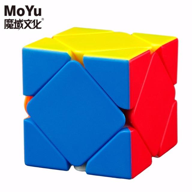 MoYu Marca de Posicionamiento Magnético Skewb cubo mágico Cubo de la Velocidad 55mm Cube juguetes para niños