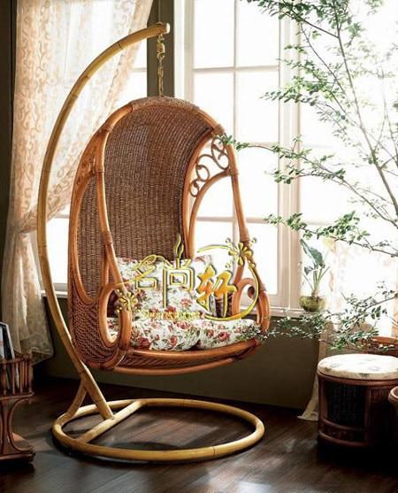 Superieur Wicker Chair / Rattan Basket / Rattan Swing / Lounge Chair / Garden Sofa /  Rattan