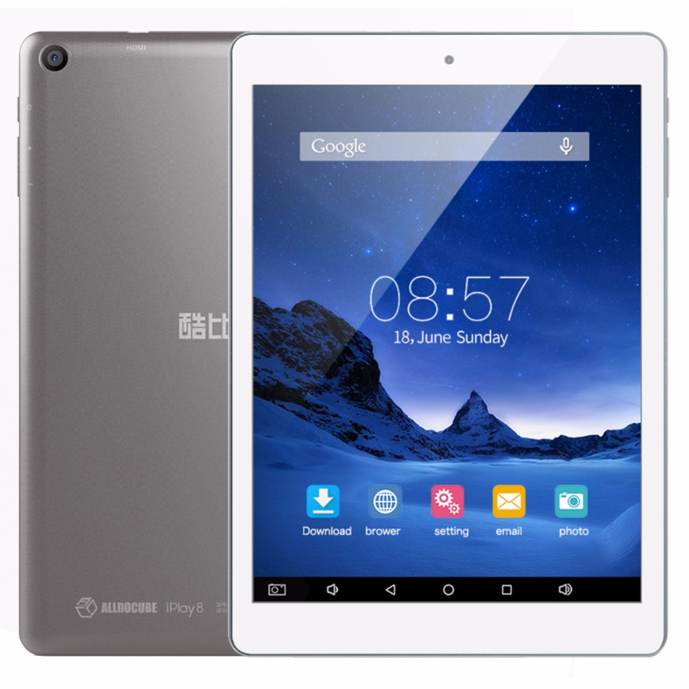 AlldoCube/ Cube iPlay 8 U78 Tablet PC 7.85 inch 1GB 16GB Android 6.0 MT8163 Quad Core OTG GPS FM Dual Band WiFi Tablets