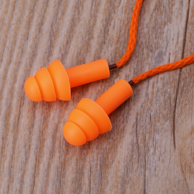 Soft Silicone Wired Ear Plugs Noise Reduction Caps Earmuffs Hearing Protection Buy Now Back To Search Resultssecurity & Protection