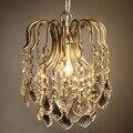 Роскошные хрустальные подвесные светильники Lamparas Ретро Хрустальная подвеска модная гостиная столовая освещение Lamparas Colgantes