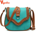 2017 Women Messenger Bag Hollow Out bolsa feminina bolso mujer Leather Shoulder Bag Saddle Crossbody Bags for Women