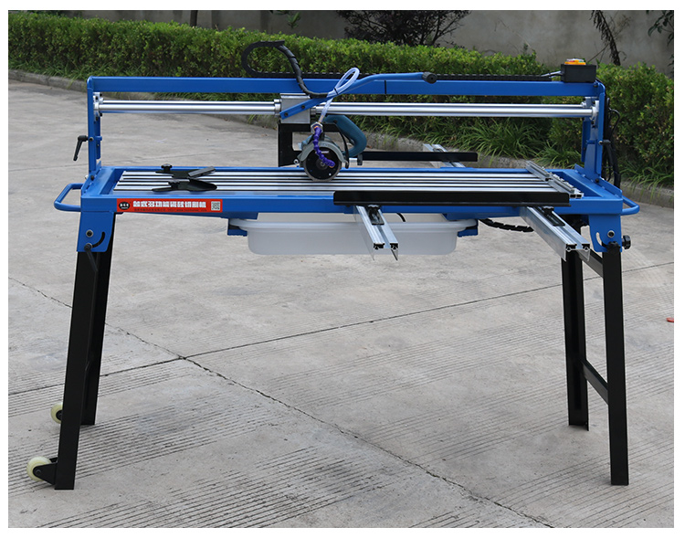 1300mm Small Manual Stone Marble Tile Wood Cutting Machine Multi-function 45 Degree Chamfer Electric Household Edging Machine,