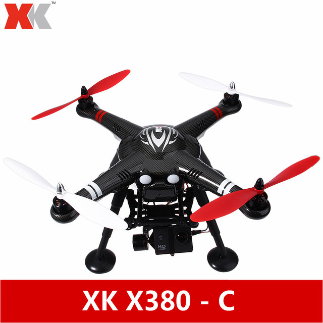 Original XK X380-C 2.4GHz 4CH GPS FPV Remote Control Top-Level Configuration Brushless Quadcopter RTF With 1080P HD Camera Drone