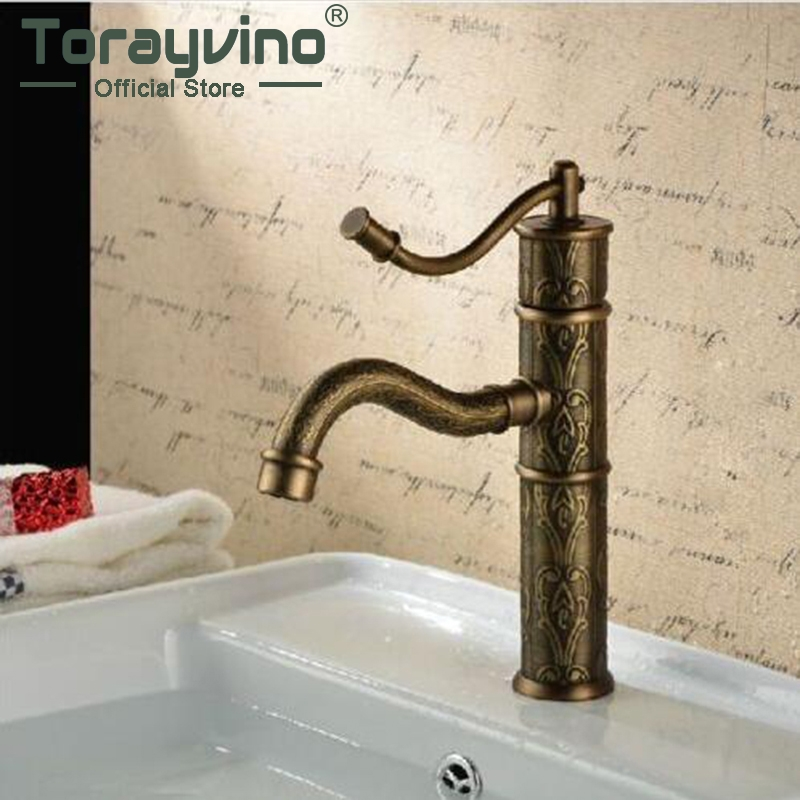 Tranditional Antique Basin Faucet Ceramic Plate Spool Deck Mounted Single Handle Hot Cold Water Mixer Excellent Basin Fau материнская плата asus rog strix z370 h gaming