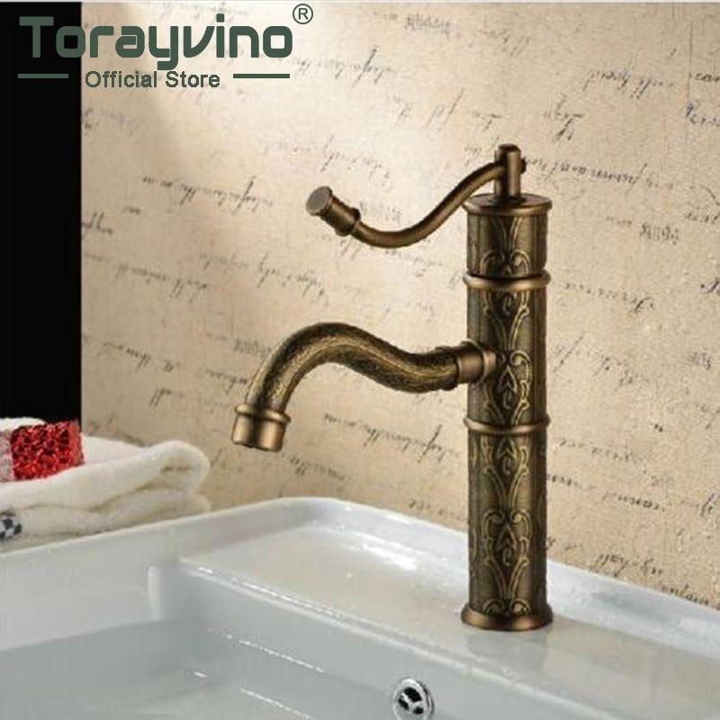 Tranditional Antique Basin Faucet Ceramic Plate Spool Deck Mounted Single Handle Hot Cold Water Mixer Excellent Basin Fau bq bq mobile bq b006 чехол со встроенным аккумулятором пластик черный