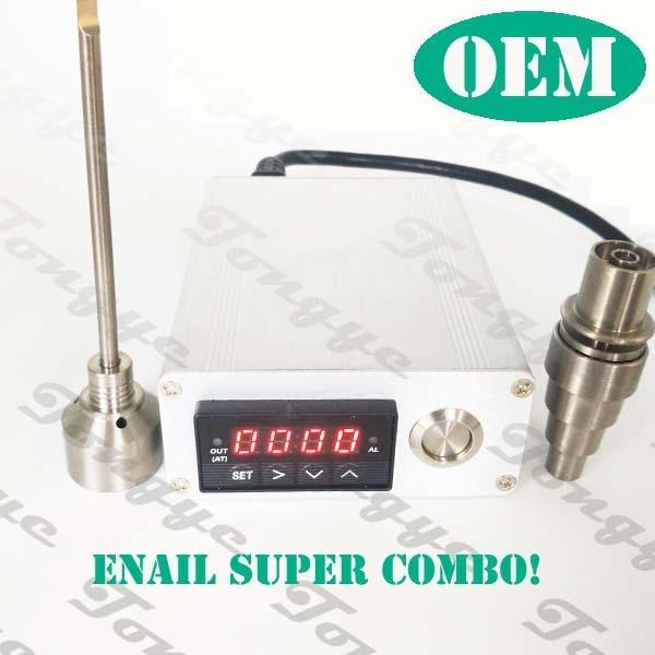 Enail Dnail eléctrica uñas dab, controlador PID calentador de bobina ...