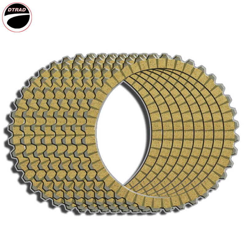 Moto Clutch Friction Plates For Harley FXDC 92 FXDWG 93-97 Low XL 883L 05-06,09-10 FLHS 90-93 FLHTC I 96-97 FXD 95-97 FXDB 91