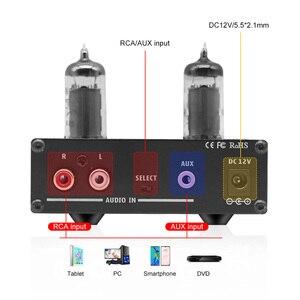 Image 4 - SUCA 6K4 أنبوب NE5532 المحمولة مضخم ضوت سماعات الأذن 6J1 الصوت أنبوب الصفراء سماعة Amplificador دي الصوت أمبير للهاتف الصوت