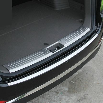 ФОТО 304 Stainless Steel Internal External Rear bumper Protector Sill for 2010-2015 Hyundai ix35 Car styling