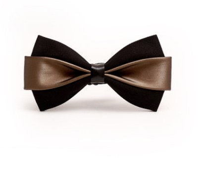 2017 new new mens bow tie PU dress Korean version of the British wedding groom host men and women bow tie bow
