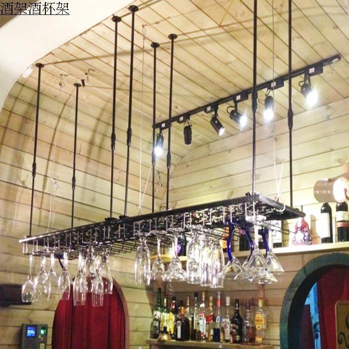 60cm wrought iron wine rack wine glass rack wall hanging cup holder wine rack white matt black bronze