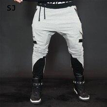 Новинка Зимы 2016 г. штаны-шаровары мужские хлопок бегунов мотоциклетные брендовая одежда(China (Mainland))