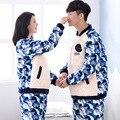 Sexy Male Pajamas Sale Style Of 2016 Autumn Winters Thickening Beibei Velvet Lovers Pajamas Warm Coral Male Ms Leisurewear Suit