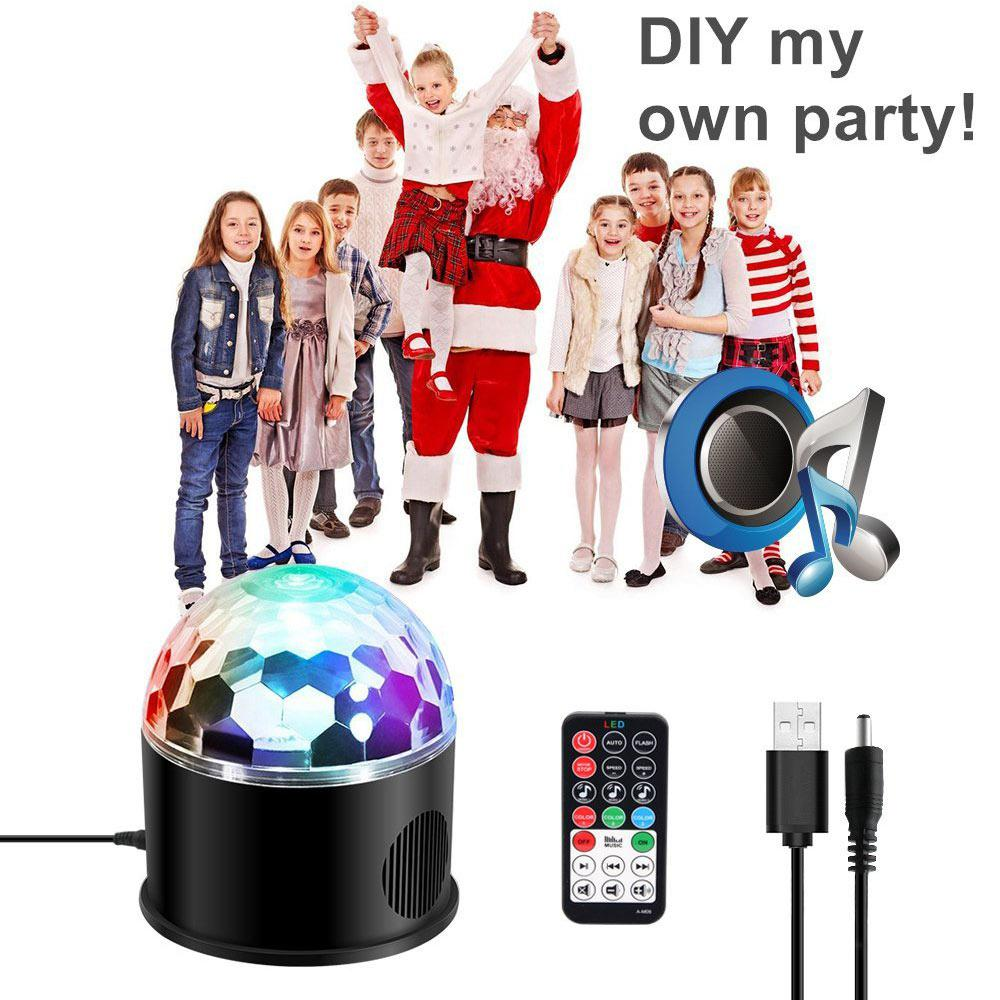 AKDSteel 9-colour Bluetooth Stage Light Projection Lamp Remote Control Music Light Festival Decoration USB Plug AKDSteel 9-colour Bluetooth Stage Light Projection Lamp Remote Control Music Light Festival Decoration USB Plug
