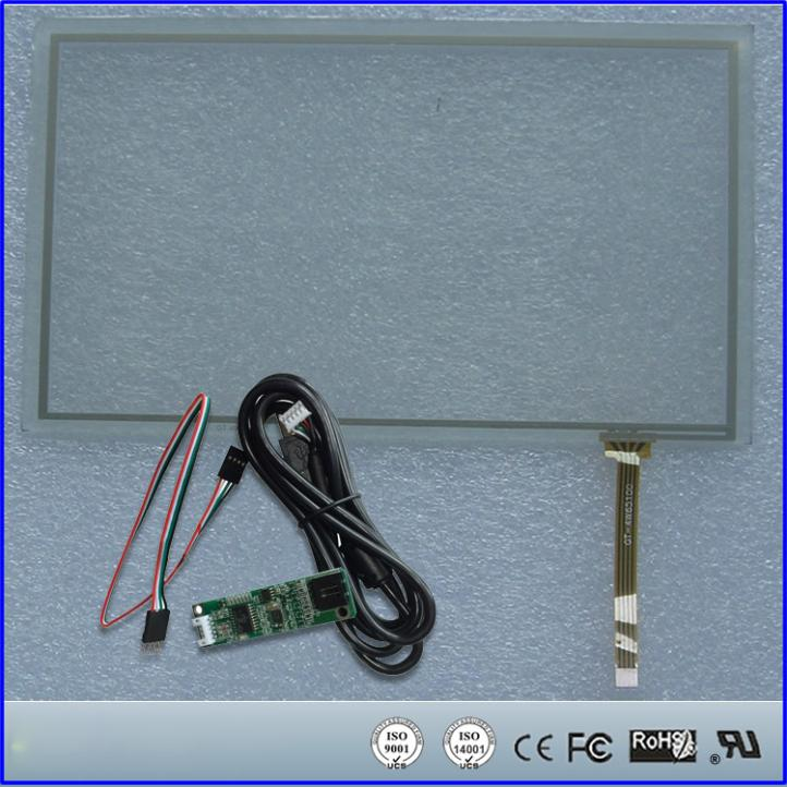 12.1inch Resistive Touch Screen Panel 260.8x203.2mm 4Wire USB kit for monitor 17 touch panel kit