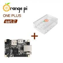 Orange Pi One Plus SET2: OPI One Plus &  ABS Transparent Case