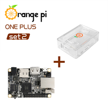 Orange Pi One Plus SET2, étui Transparent pour OPI One Plus et ABS