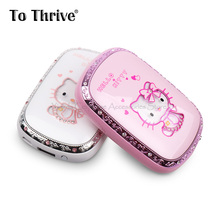 Real 6000mAh Power Bank Lovely Hello Kitty Power Bank Portable Charger for All Phone