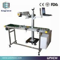 Conveyor Belt Portable Fiber Laser Marking Machine Engraver Metal Laser Marking Machine Manufacturers
