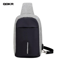 Sling Bags Casual Anti Theft Chest Bag Waist Bag Pack Casual Antitheft Travel Bags Single Shoulder