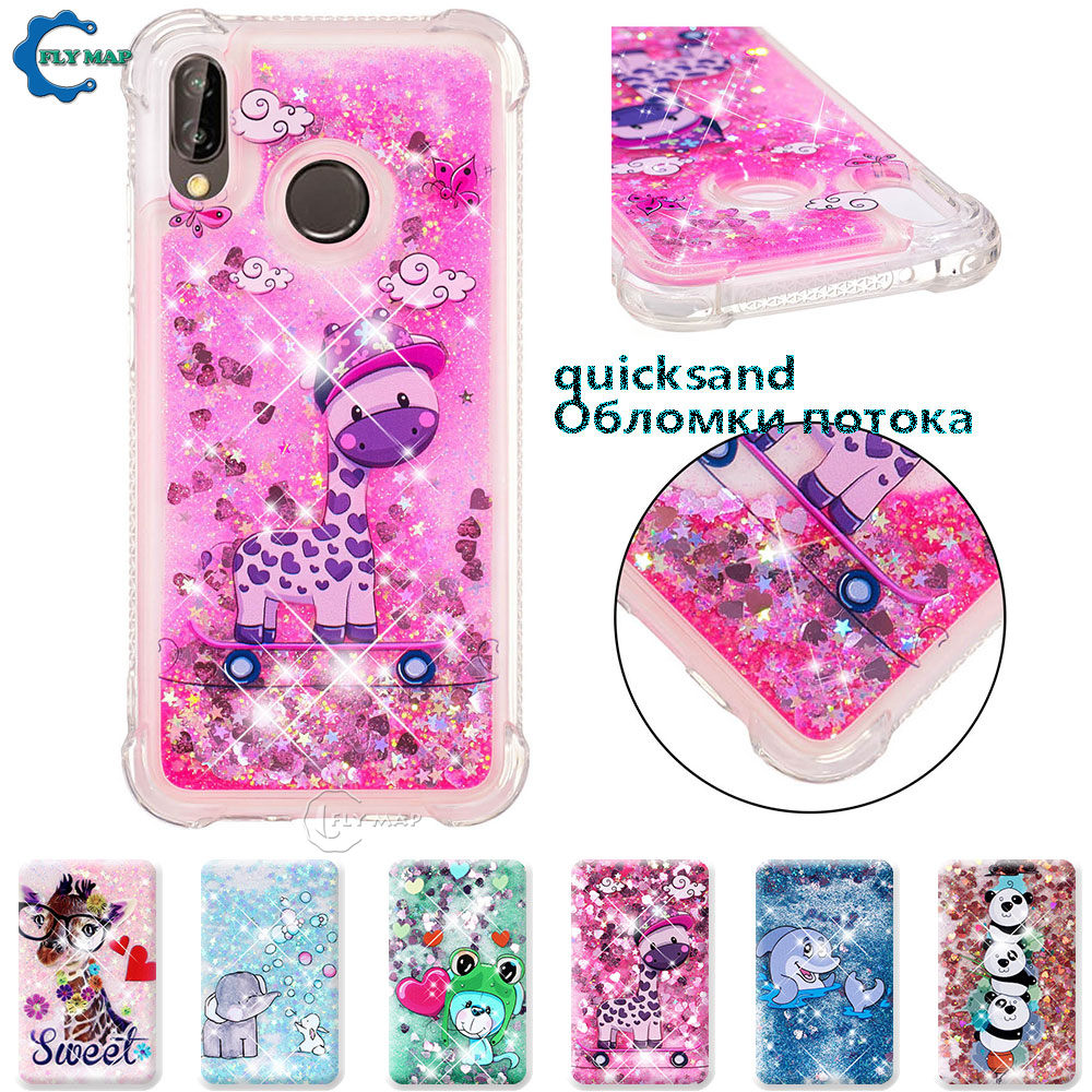 Fitted Cases Audacious Case For Huawei P20 Lite Ane Lx1 Lx3 L22 P20lite Glitter Stars Dynamic Liquid Quicksand Tpu Case P 20 Lite Ane-lx1 Ane-lx3 Cover