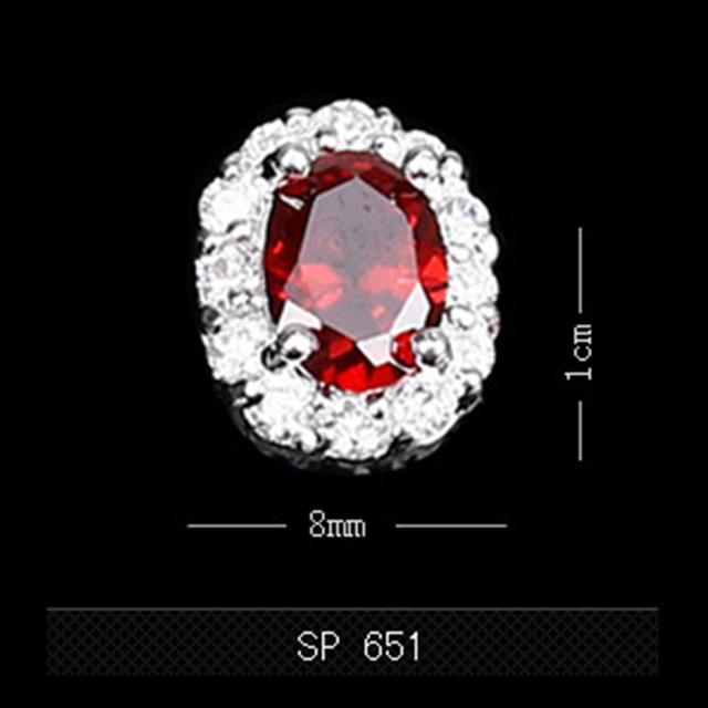 5 pçs/saco Decorações Nail DIY Manicure Diversificada Padrão Manicure Diamante Prego Acessórios de Decoração