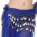 Dança Do Ventre Hip Toalha barato Indiano Dança Tribal Cachecol Fãs de Dança de Sally E das Mulheres Ouro Triângulo Lenços de Franjas