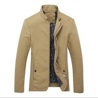 New European and American men jacket for young cotton big size jacket