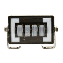 цены на free ship 2pcs 4.76inch 24W LED work light driving light bar with White DRL halo for 4x4 SUV off road truck trailer  в интернет-магазинах