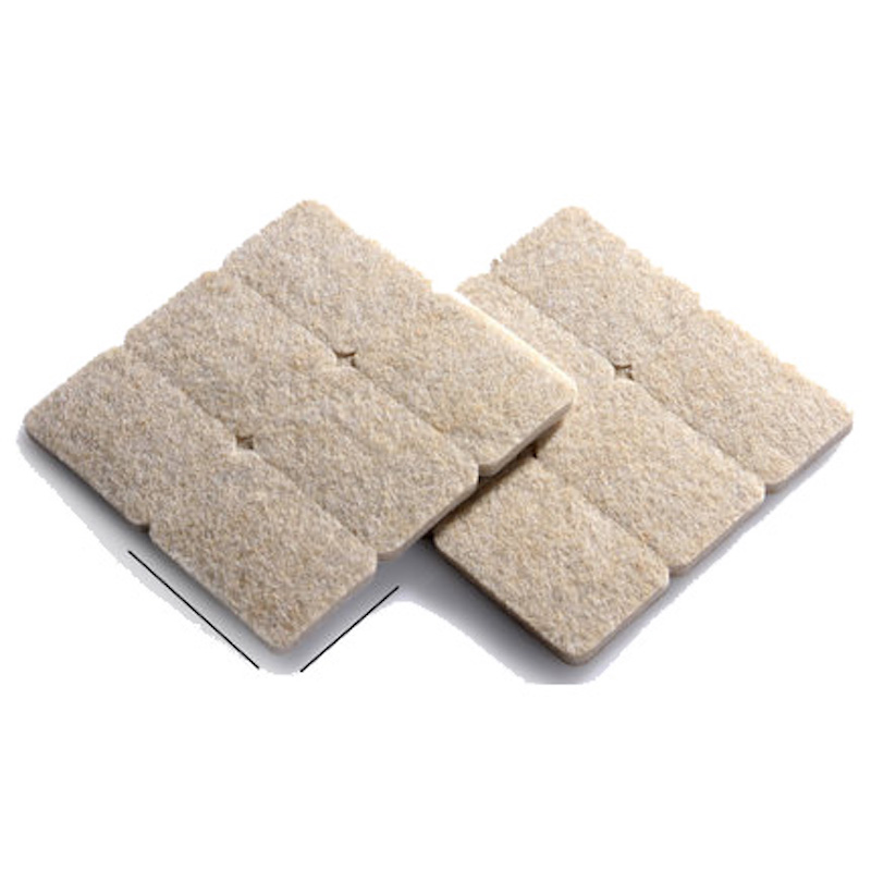 12 pieces 28 x 42mm protection cushion floor table chair sofa Legs felt pads surface protector pads furniture pads abrasionproof 2 pieces 85mm square cushion felt pads for table chair sofa leg felt desk pad protector felt furniture pads abrasion