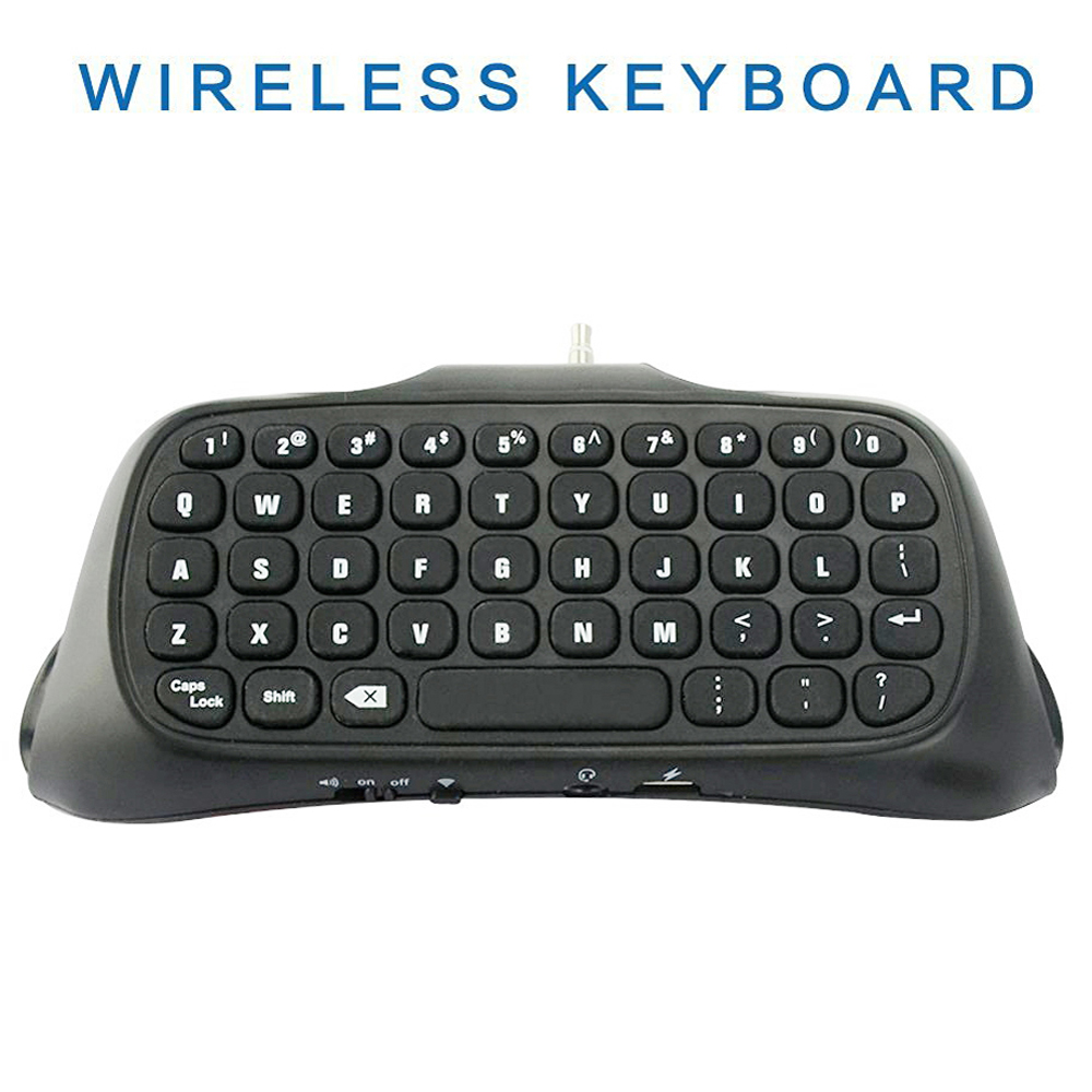 For PS4 Game wireless Controller Bluetooth Wireless Keyboard Keypad for Sony for Playstation for PS 4 Controller