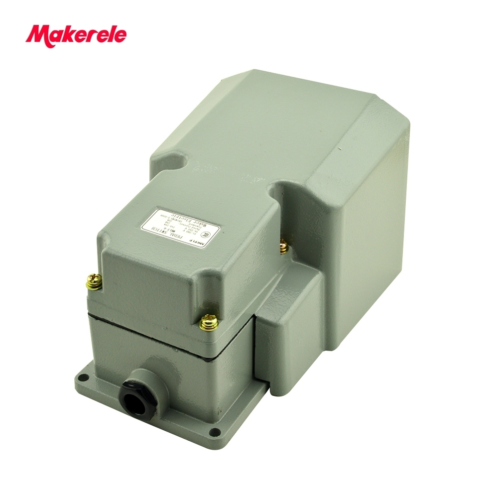 FOOT PEDAL SWITCH FOR CNC MACHINE MKLT-6 380VAC 250VDC 15A Foot Swithes from China manufacturer wholesale price foot control pedal for welding machine