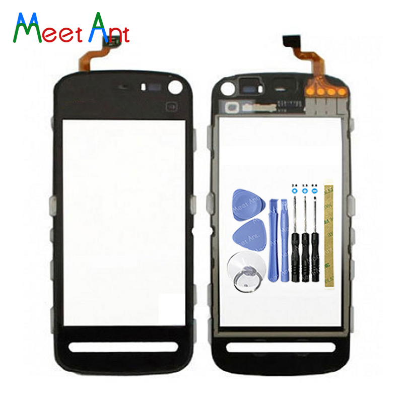 """High Quality 3.2"""" For Nokia 5800 N5800 Touch Screen Digitizer Sensor Outer Glass Lens Panel Black-in Mobile Phone Touch Panel from Cellphones & Telecommunications"""