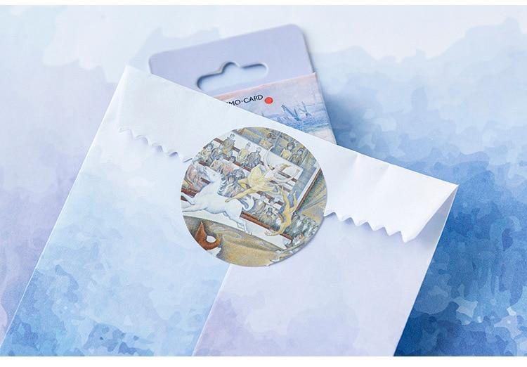 Милая наклейка с кошкой милый дневник ручной работы клейкая бумага хлопья Япония винтажная коробка мини-наклейка Скрапбукинг пуля журнал канцелярские товары