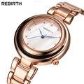 Mulher Requintado Pequeno Jóias Marca Cinta de Aço Inoxidável Relógio Tendência Relógios de Negócios de Moda Casual relógio de Pulso de Quartzo Presentes