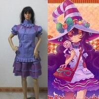 Game cosplay lol costume the Fae Sorceress Lulu cosplay costume